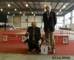 CACIB Zagreb, Sergio,Tockica & judge, 21.11.10.